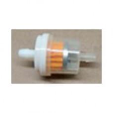 Фильтр топливный универсальный (штуцеры - d7 мм, фильтр - d 26 мм, общая длина - 50 мм)