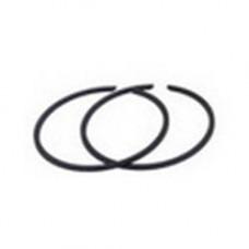 Кольца поршневые 2 шт. (d 43 мм) для бензопилы 45 сс