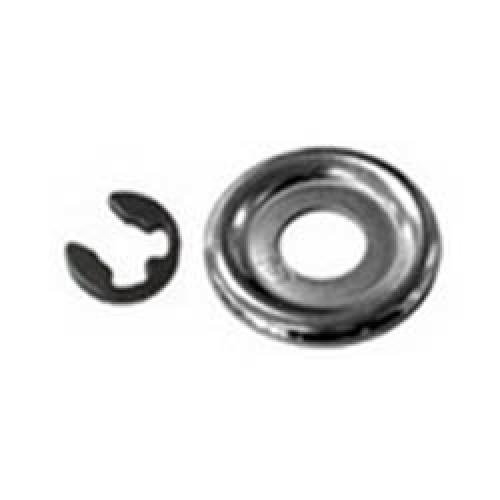 Стопорное кольцо ведущей звездочки в комплекте с шайбой для бензопил Stihl MS 180-660