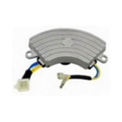 Автоматический регулятор напряжения (блок AVR) 2 кВт алюм. полумесяц (2 провода 4 контакта)