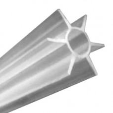 Пластиковая труба для бензокосы под трубу, D = 22 мм