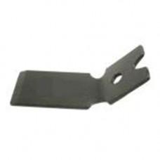 Нож (отсекатель) лески защитного кожуха китайских бензокос 26-52 сс (узкий, под один саморез)