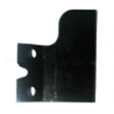 Нож (отсекатель) лески защитного кожуха китайских бензокос 26-52 сс (широкий, под два самореза)