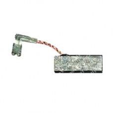 Щетка угольная для Bosch GBH2-26DS (5х8х19 мм) поводок, клемма-мама выход сбоку