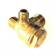 Обратный клапан компрессора 1/8Н, 3/8Н, 1/4Н (диаметр 10 / 13 / 17 мм наружный)