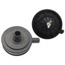 Фильтр воздушный для компрессора 1/2 с отводом пластиковый