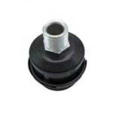 Фильтр воздушный для компрессора металлический корпус, ф53, резьба 1/2