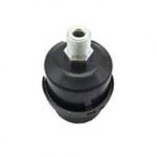 Фильтр воздушный для компрессора металлический корпус ф53, резьба 3/8