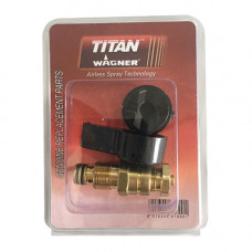 Обратный клапан / сливной клапан с ручкой Titan 440C / 440i, Wagner PS20 / PS22