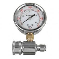 Манометр (датчик давления) до 40 МПа для окрасочных аппаратов высокого давления